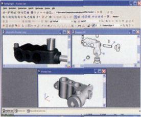 rxhighlight-dateiformate-konvertieren | AutoCAD Magazin / Inventor Magazin CAD CAM November 2004