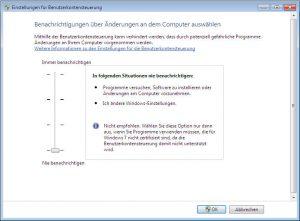 windows-7-benutzerkontensteuerung-berechtigung | RxView™/RxHighlight™ Installationsprobleme