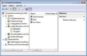 windows-7-computerverwaltung-benutzerkonten | RxView™/RxHighlight™ Installationsprobleme