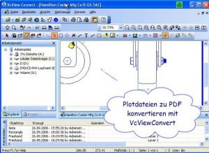 vcview-convert-plotdatei-in-pdf-konvertieren | VcView Convert - Plotfile Konverter in PDF Qualität