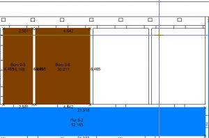 itwo-rxsdk-flaechenmessung-mit-fangpunkt | 2D-Mengenermittlung zum Aufmaß