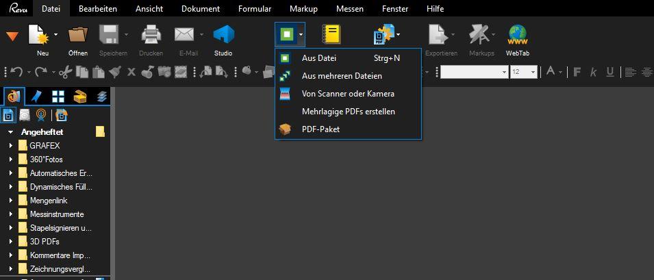 Neuerstellen von nicht korrekt angezeigten PDF-Dateien