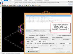 Professionelle CAD-Betrachtung, Konvertierung und Output-Management mit VcCAD Convert