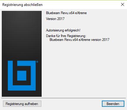 bluebeam-revu-2017-installation-registrierung-abschliessen