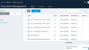 Integration von Studio-Sitzungen in Autodesk BIM 360 Docs