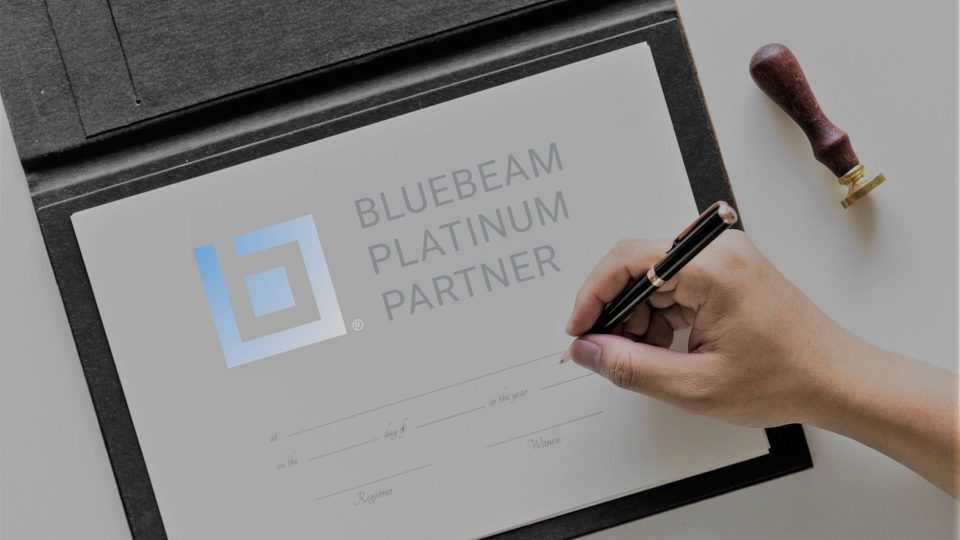 Wir sind Bluebeam Platinum Partner!