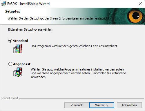 installation-rxsdk-04-setuptyp