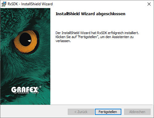 installation-rxsdk-09-instalaltion-abgeschlossen