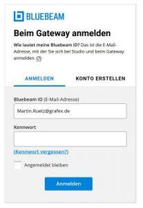 bluebeam-gateway-screenshot | Update des Bluebeam Gateways