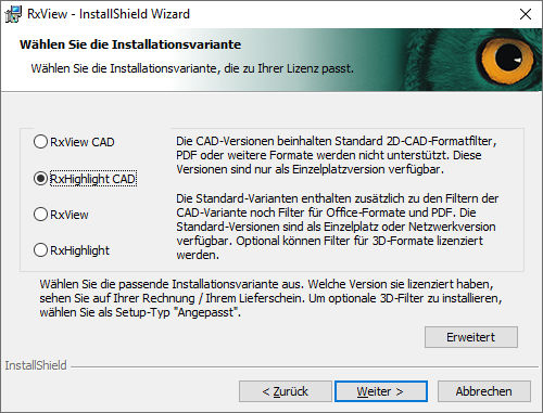 installation-rxview-rxhighlight-cad-04-installationsvariante
