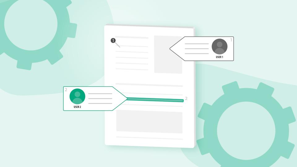 Release der WebSDK Real Time Collaboration - Schnelle Integration für die Zusammenarbeit mit Dokumenten
